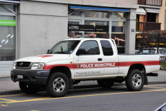 Police Municipale Commune de Plan-les-Ouates (GE) - Toyota Hilux