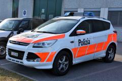 Polizeia Malcantone Est (TI) - Ford Kuga II