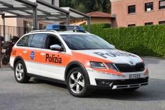 Polizia Malcantone Ovest (TI) - Skoda Octavia III Scout