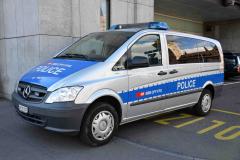 SBB Transportpolizei - Mercedes Vito W639
